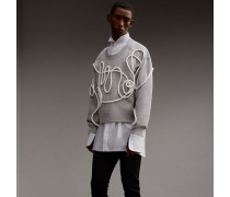 Unisex-Sweatshirt mit Schlaufendetail