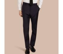 Modern geschnittene Hose aus Wolle und Mohair