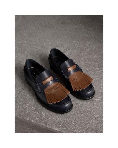 Günstig Kaufen Neue Freies Verschiffen Billig Qualität Burberry Herren Loafer aus Leder Einkaufen Billig Verkauf Geschäft xT19NfO4s