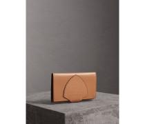 Brieftasche im Kontinentalformat aus Leder
