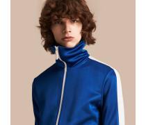 Jacke mit Frontreißverschluss und Streifendetail