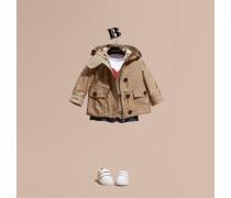Packbare, Wasserabweisende Jacke Mit Kapuze