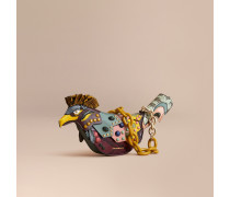 The Falcon - Crossbody-Tasche aus Natternleder und Leder