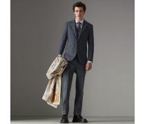 Dreiteiliger Anzug in Soho-Passform aus Leinen und Wolle