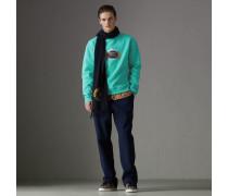 Jersey-Sweatshirt in einer Neuauflage