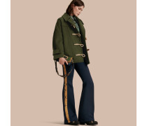 Dufflecoat aus Wolle im Military-Stil