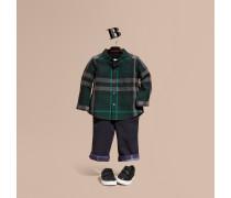 Button-down-Hemd aus Baumwolle mit Check-Muster