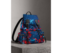 The Large Rucksack im Farbklecks-Design
