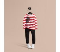"""Langärmeliges Shirt aus Baumwolle mit """"Use Your Head""""-Motiv"""