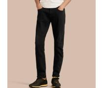 Körperbetonte Jeans aus Stretchdenim
