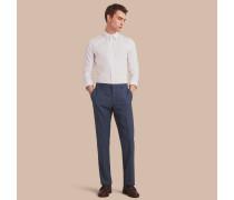 Modern geschnittene Hose aus Wolle und Seide