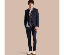 Körperbetonter Travel Tailoring-Anzug aus einer Baumwollmischung