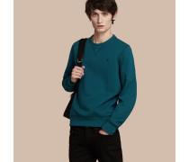 Sweatshirt aus einer Mischung aus Jersey und Baumwolle