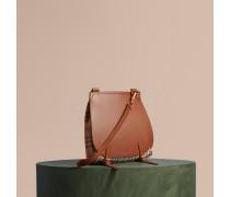 The Small Bridle aus Leder und Haymarket Check-Gewebe
