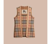 Herausnehmbares Futter aus Kaschmir und Wolle mit House Check-Muster für den Kensington- und den Wiltshire-Trenchcoat