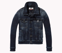 Jeansjacke aus Stretch-Baumwolle