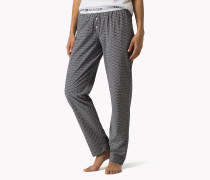 Iconic Pyjamahose Aus Baumwolle