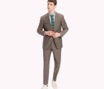 Tailored Slim Fit Anzug aus Wolle