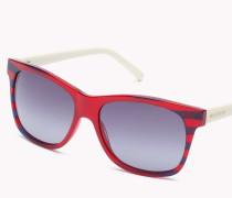 Gestreifte Sonnenbrille