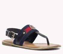 Sandalen im Ledermix