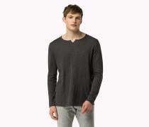 Pullover aus Baumwoll-Flammengarn