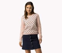 Baumwoll-sweatshirt Mit Print