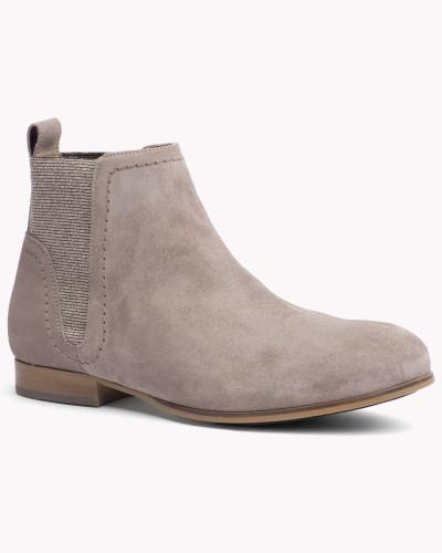 tommy hilfiger damen ankle boots aus wildleder 30 reduziert. Black Bedroom Furniture Sets. Home Design Ideas