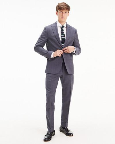 TH Flex karierter Anzug