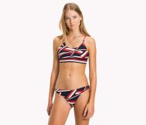 Iconic Bikini-Set mit Print