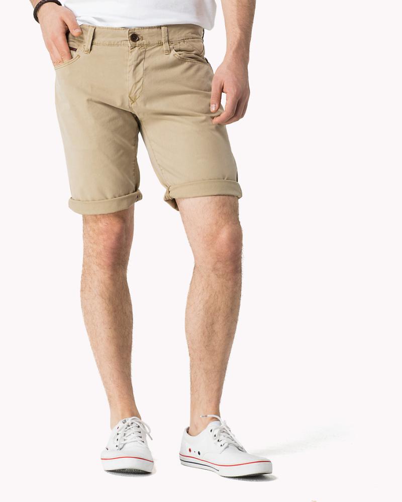 tommy hilfiger herren twill shorts 50 reduziert. Black Bedroom Furniture Sets. Home Design Ideas