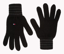 Gestreifte Handschuhe