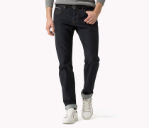 Slim Fit Jeans Aus Baumwoll-mix