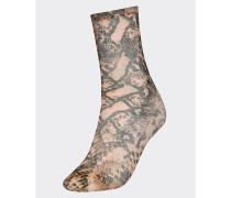 Zendaya Socken mit Schlangen-Print
