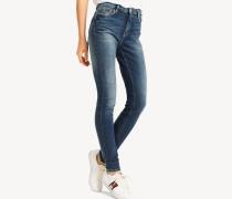 Skinny Fit Jeans mit Fade-Effekt