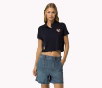 Gigi Hadid Poloshirt Aus Baumwoll-piqué