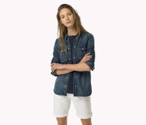 Denim-Hemd im Western-Look