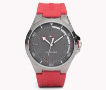 Rote Riverside Armbanduhr