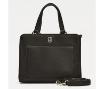 TH City Satchel mit Monogramm