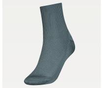 Gerippte, kurze Socken