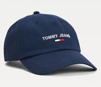 Logo-Baseball-Cap aus Bio-Baumwolle