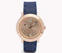 Armbanduhr Mit Silikonarmband