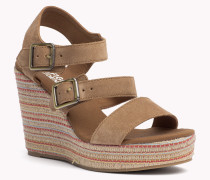 Wedges Aus Wildleder