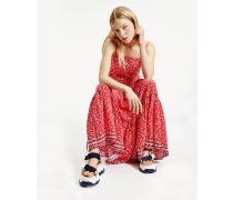 Maxi-Kleid mit Blumen-Print