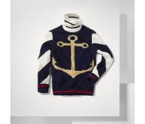 Sweater Mit Ankermotiv