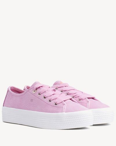 Sneaker aus Nubuk