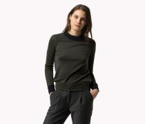 Woll-sweater Mit Randstreifen