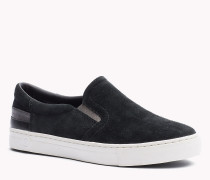 Slip-on Sneakers aus Wildleder
