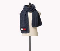 Unifarbener Schal aus Baumwoll-Mix