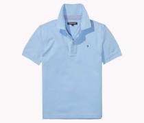 Poloshirt Aus Stretch-baumwoll-piqué