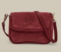 Kleine Crossbody-Tasche mit Wappen